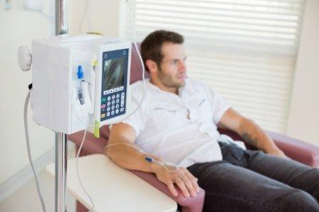 Chemioterapia per tumore al polmone